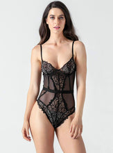 Load image into Gallery viewer, Lace Mesh Bodysuit - Evalamor