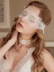 Lace Eyelash Eye Mask - Evalamor