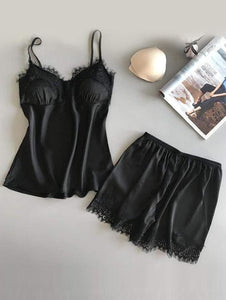 Lace Cami Short Set.
