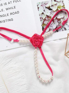 Rose Pearl G-strings - Evalamor
