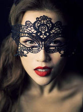 Load image into Gallery viewer, Hollow Lace Eye Mask - Evalamor