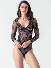 Load image into Gallery viewer, Lace Long Sleeve Palysuits - Evalamor