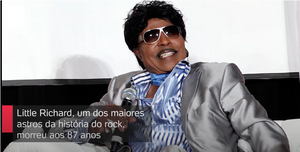 Morreu Little Richard, lenda do rock, aos 87 anos