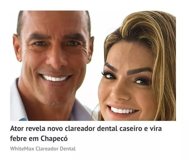 [2 Protes] Clareamento Dental White Natural Lacrado