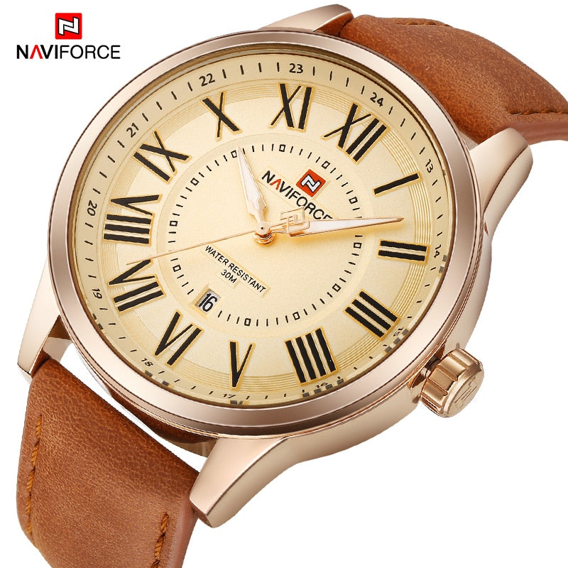 Relógio NAVIFORCE Home Classic 1789 NF 9126 RG