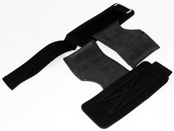 Gymmaster Wrist Support with Lifting and Pushing Pads by Outbak Bodysports
