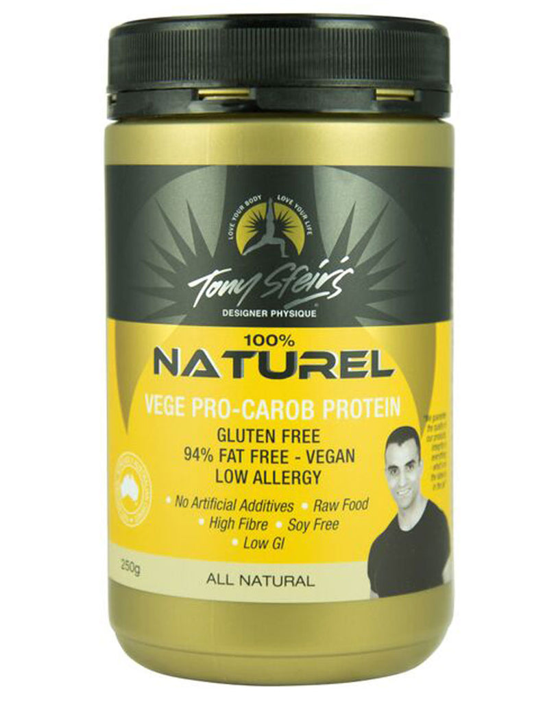Designer Physique Naturel Vege Pro - Carob Protein (Natural Flavour)