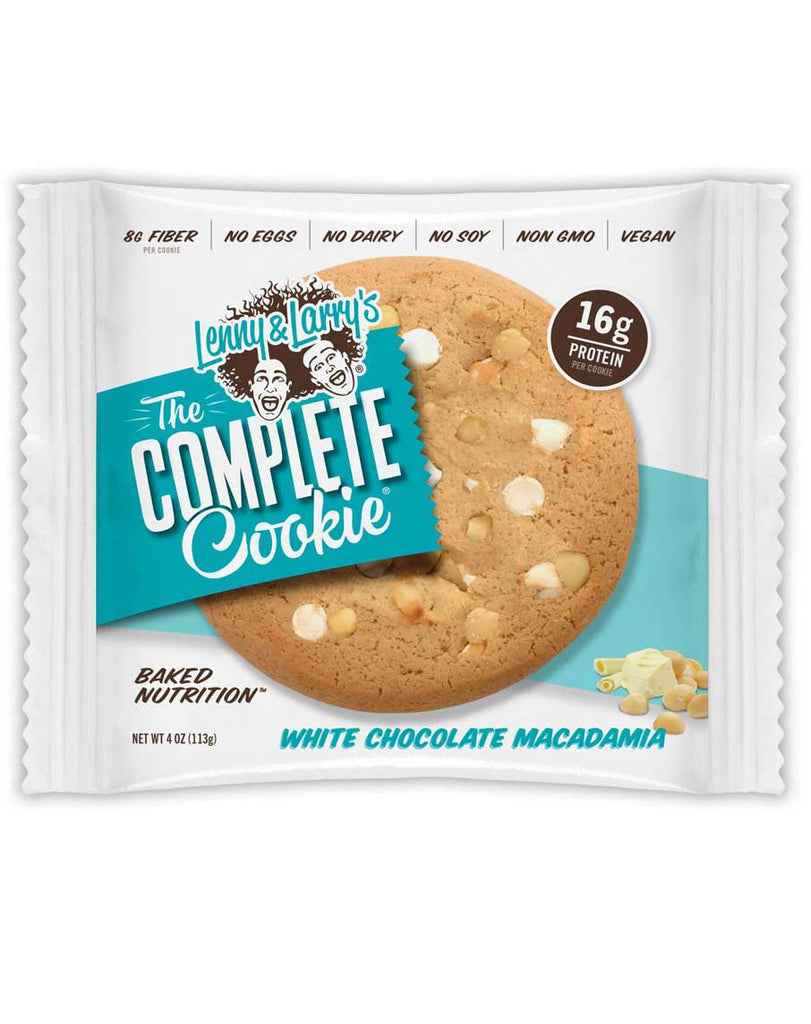 White Chocolate Macadamia Complete Cookie by Lenny & Larry's