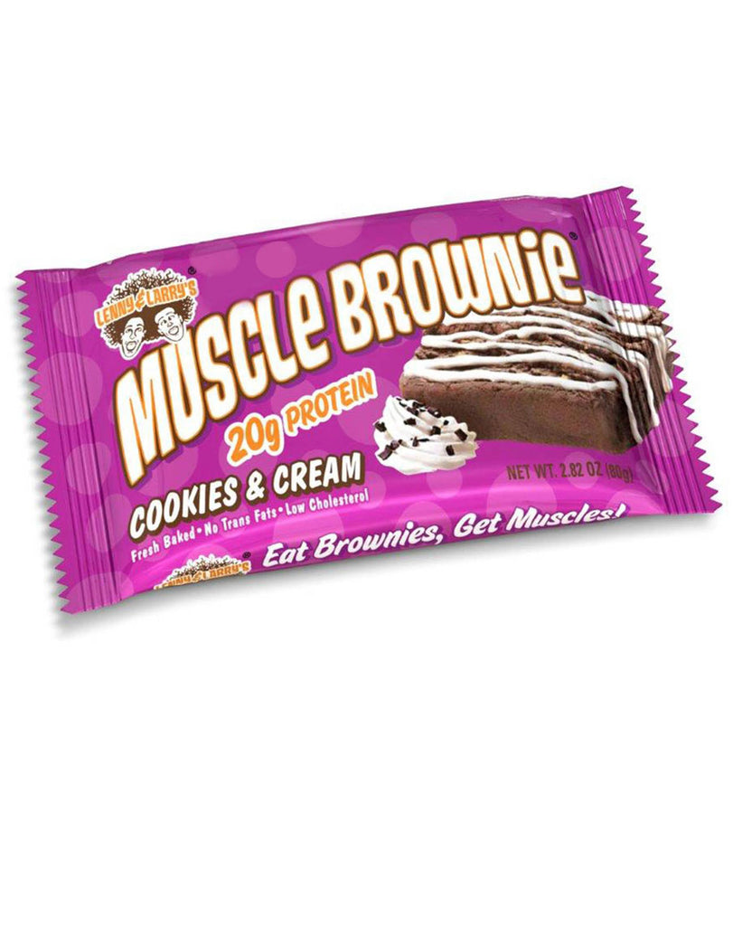 Muscle Brownie by Lenny & Larry's - Cookies & Cream