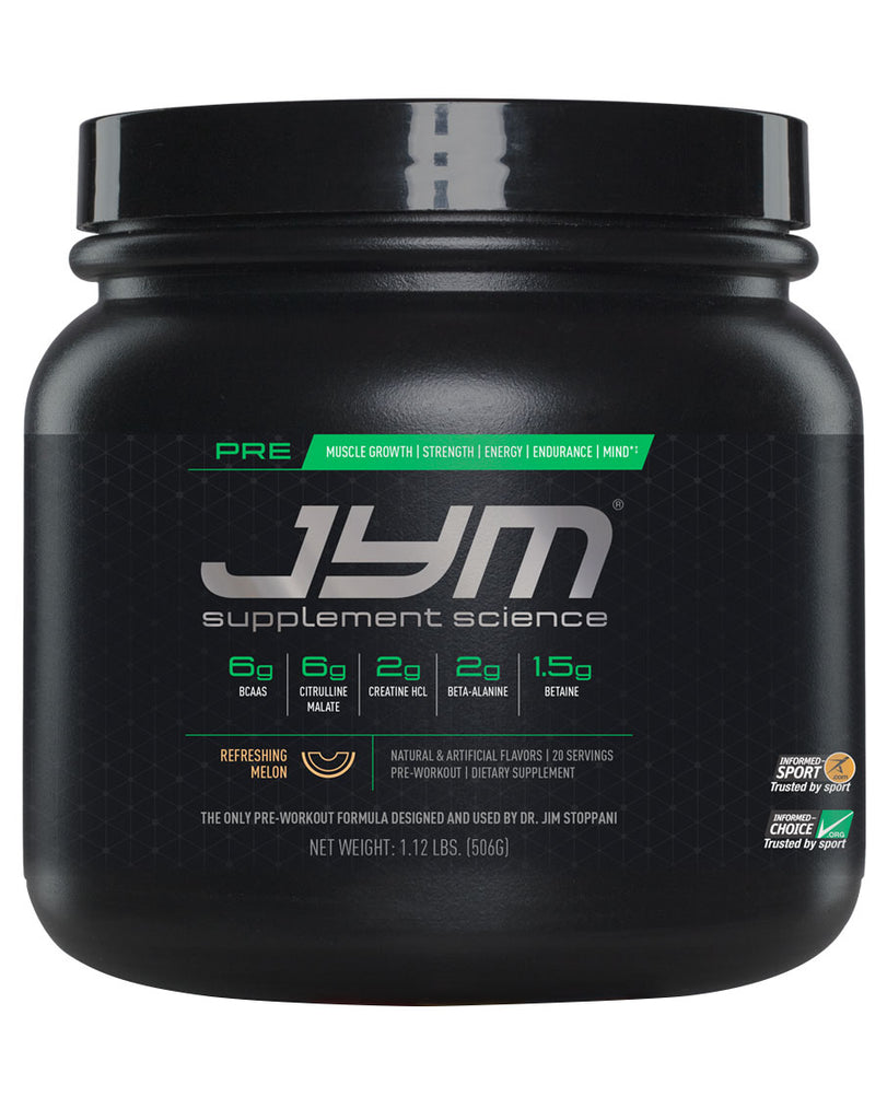 Pre Workout by Jym Supplement Science