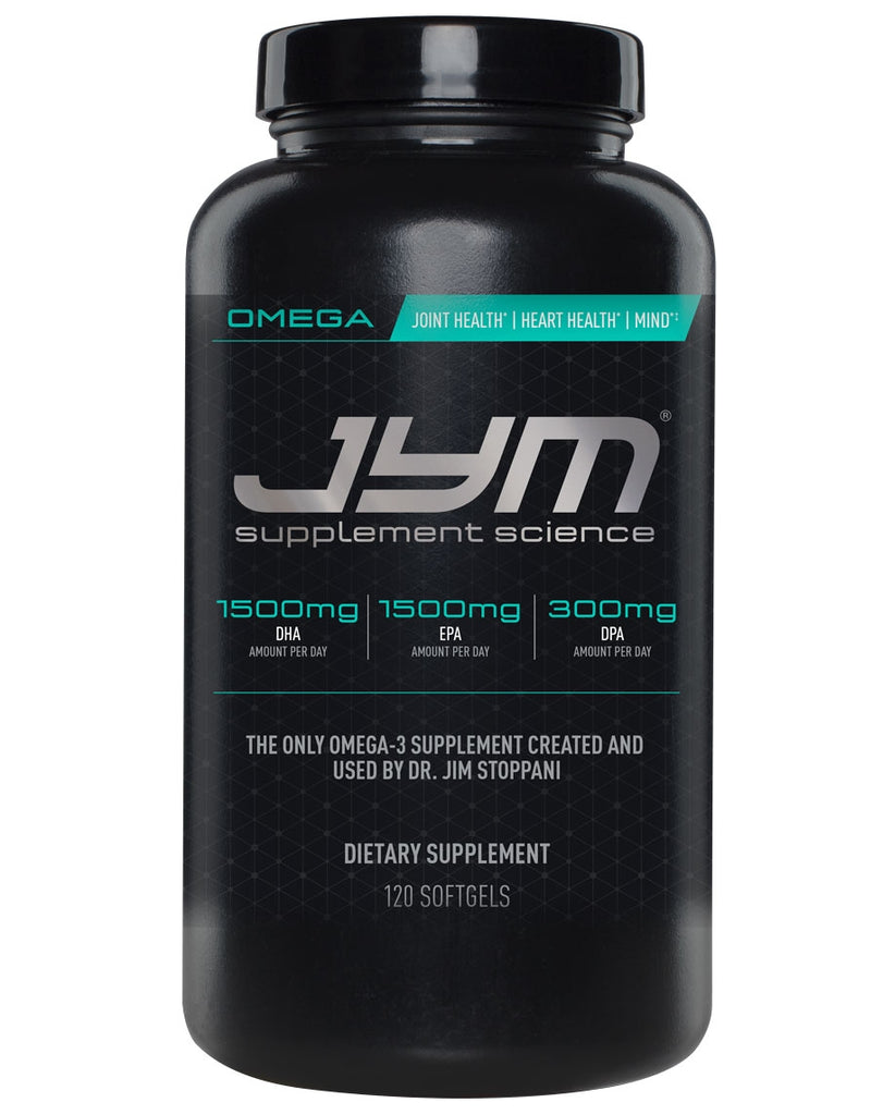 Omega by Jym Supplement Science