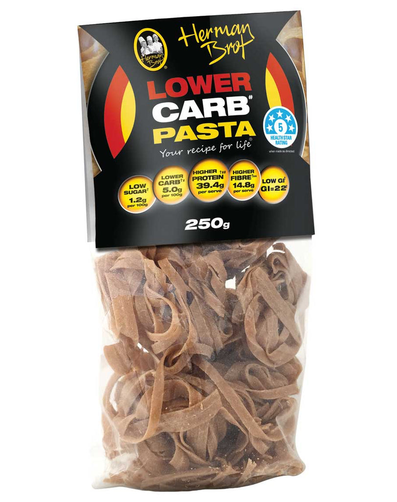 Lower Carb Pasta by Herman Brot
