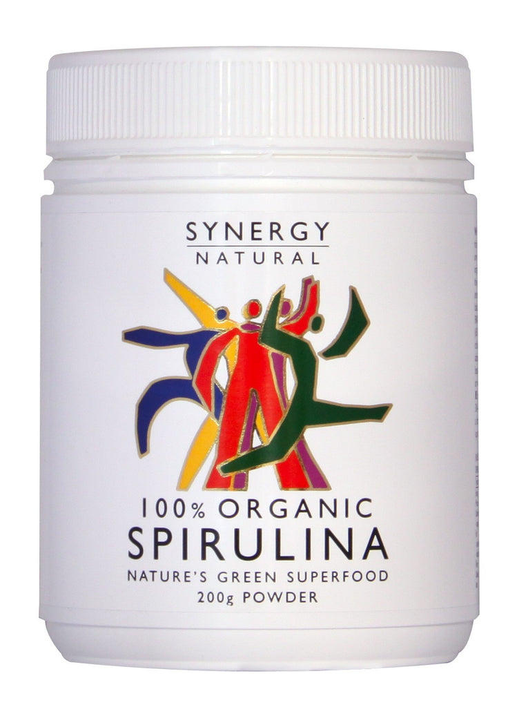 Spirulina Organic 200g Powder by Synergy Natural