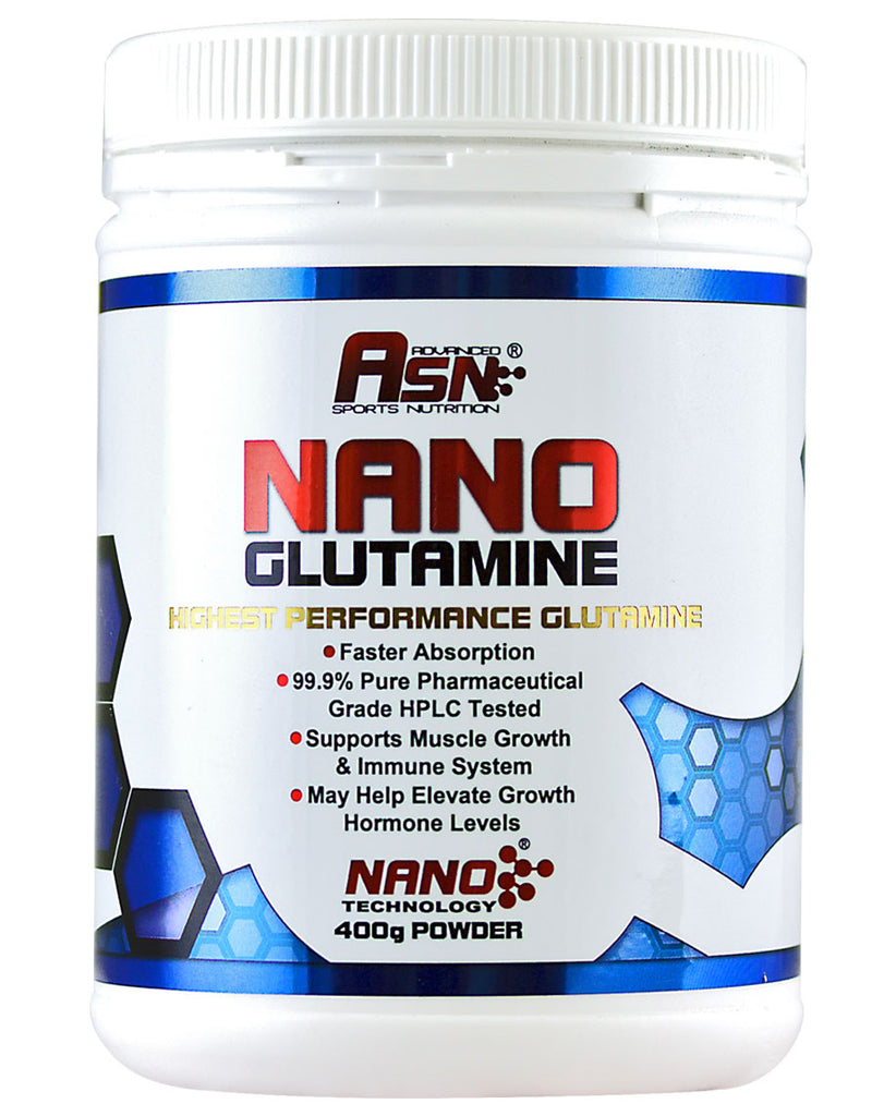 Nano Glutamine by ASN - Advanced Sports Nutrition