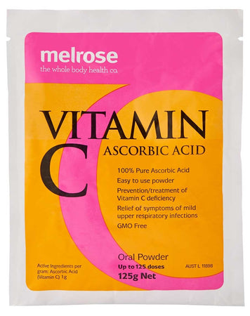Vitamin C Ascorbic Acid by Melrose