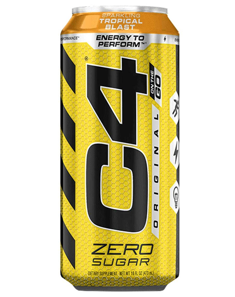 C4 Carbonated On The Go RTD by Cellucor