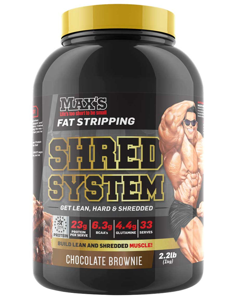 Shred System by Max's Supplements