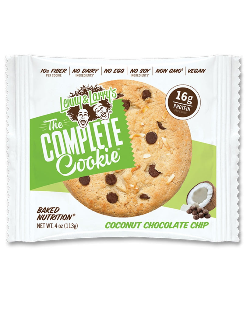 Coconut Chocolate Chip Complete Cookie by Lenny & Larry's