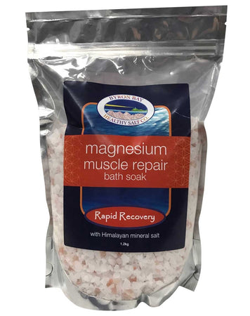 Magnesium Muscle Repair Bath Soak by Byron Bay Healthy Salt Company