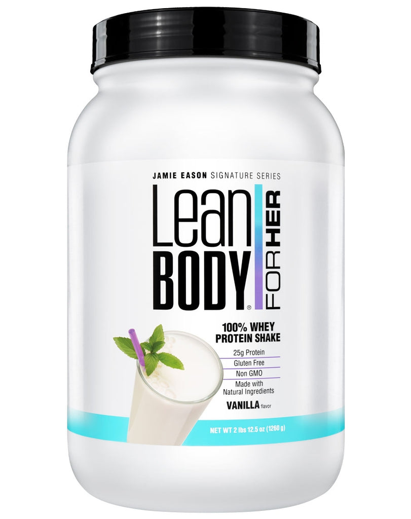 100% Whey Protein Shake by Lean Body For Her