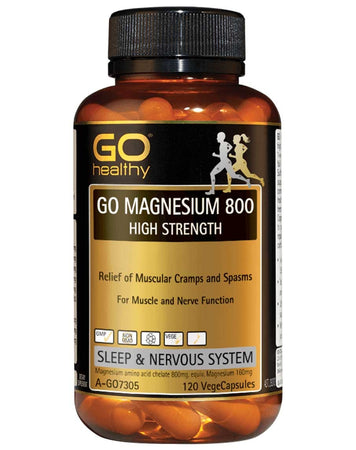Go Magnesium 800 High Strength by Go Healthy