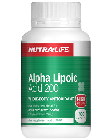 Alpha Lipoic Acid 200 by NutraLife