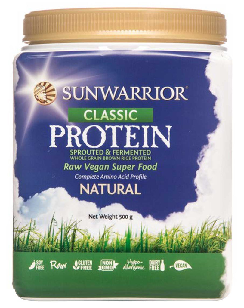 Raw Vegan Rice Protein by Sunwarrior