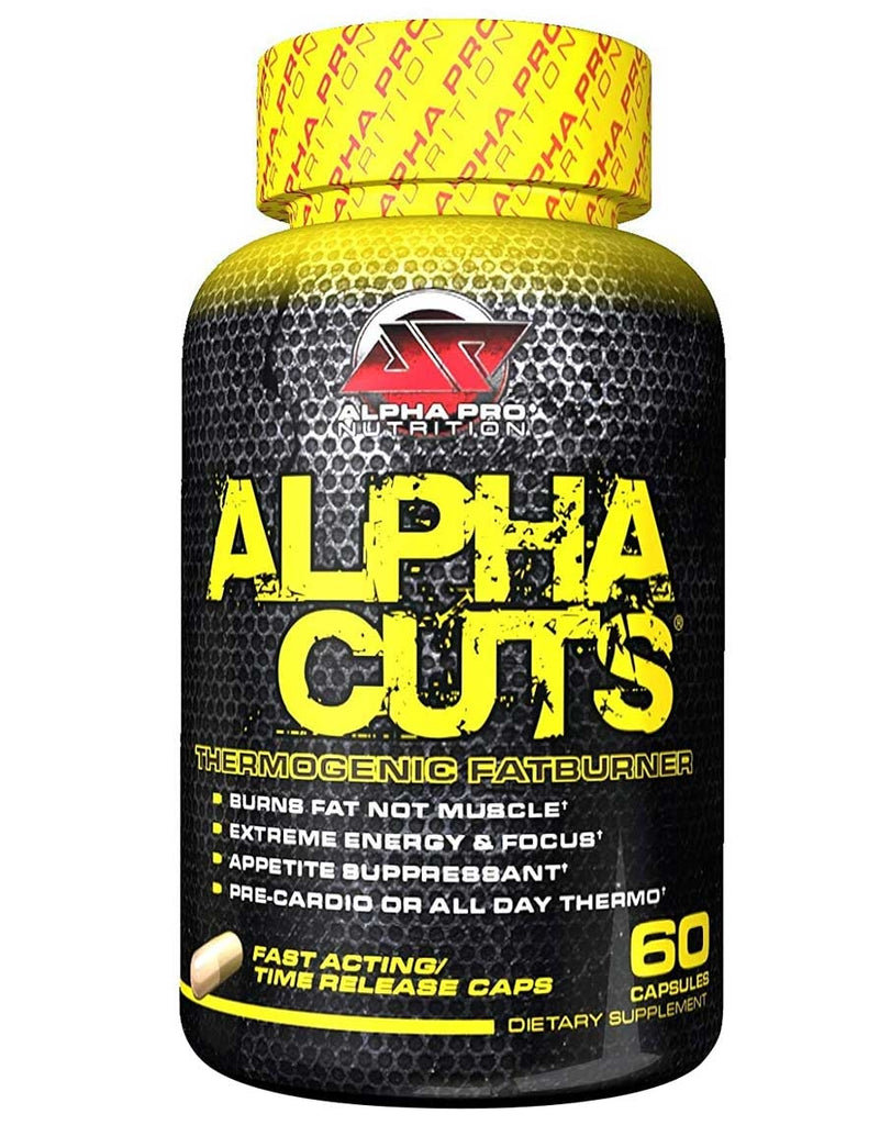 Alpha Cuts Capsules by Alpha Pro Nutrition