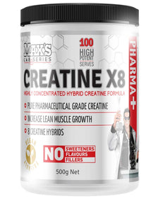 Creatine X8 by Max's Lab Series