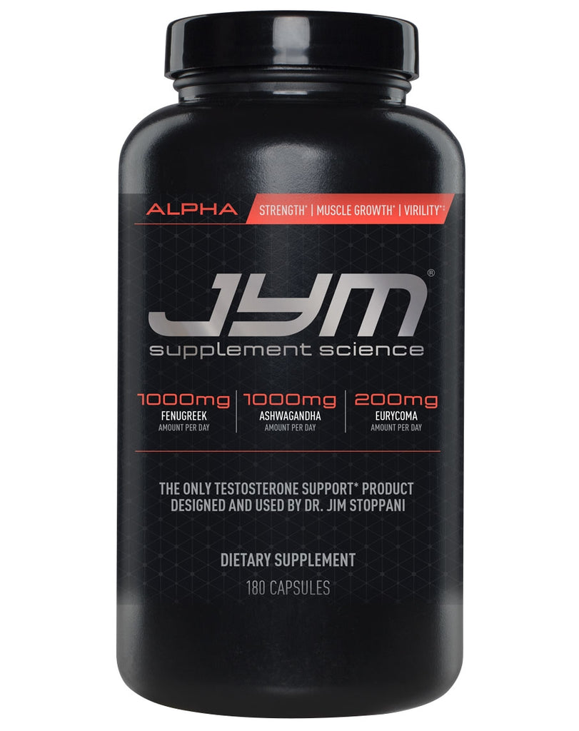 Alpha by Jym Supplement Science