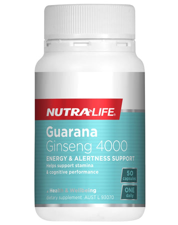 Guarana Ginseng 4000 by Nutralife