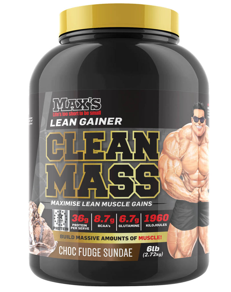 Clean Mass by Max's Supplements