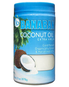 Pure Coconut Oil Extra Virgin 1L by Banaban