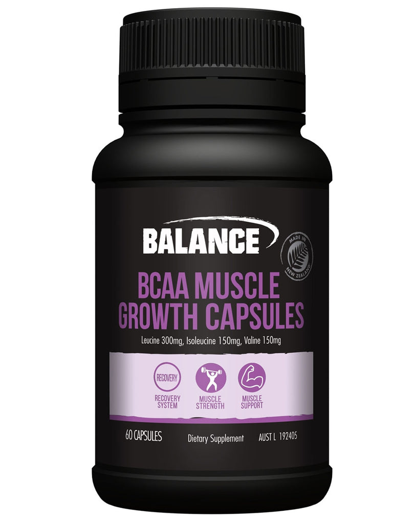 BCAA Muscle Growth Capsules by Balance