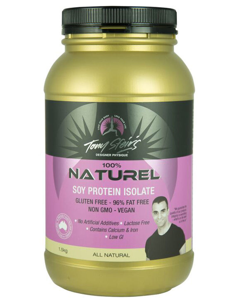 Designer Physique - Soy Protein Isolate Naturel (Natural Flavour)