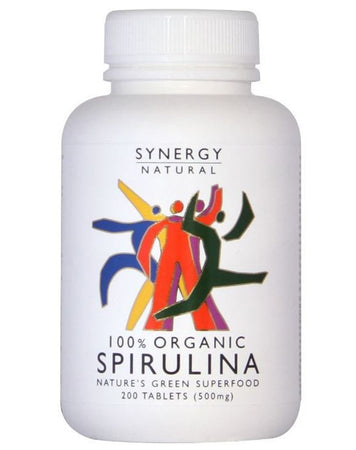 100% Organic Spirulina (Tablets) by Synergy Natural