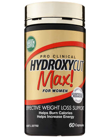 Pro Clinical Hydroxycut Max for Women by MuscleTech