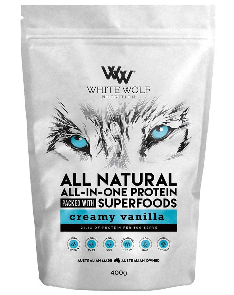 All Natural All-In-One Protein by White Wolf Nutrition