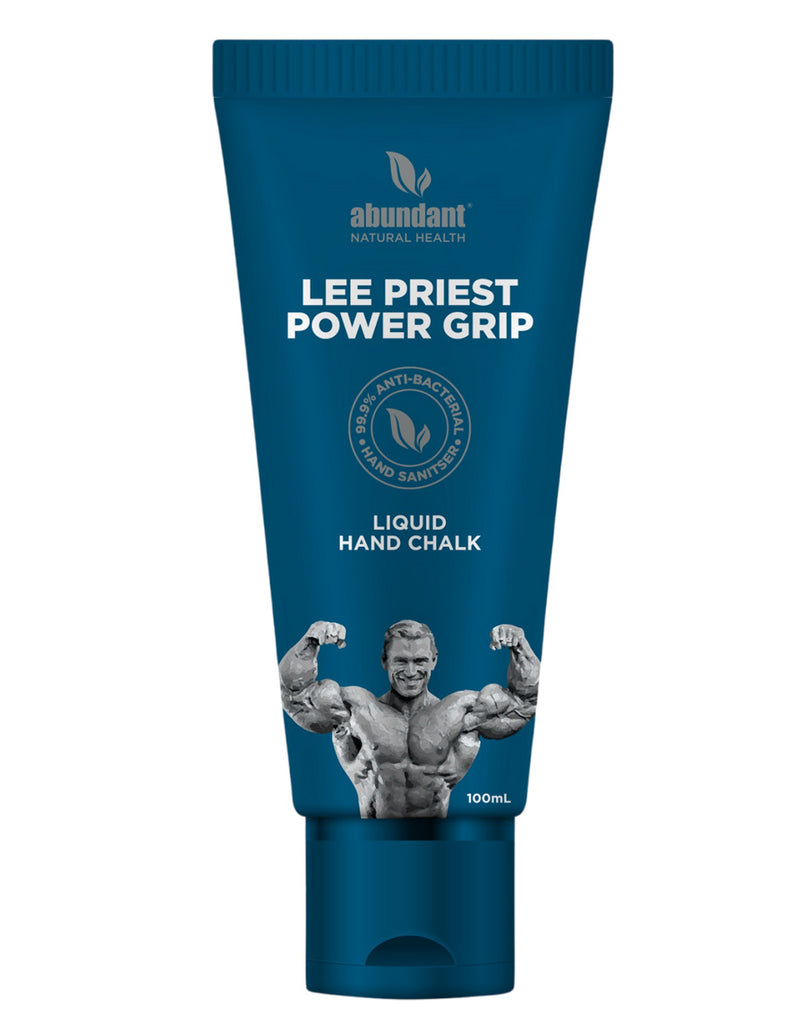 Lee Priest Power Grip (Liquid Hand Chalk) by Abundant Natural Health