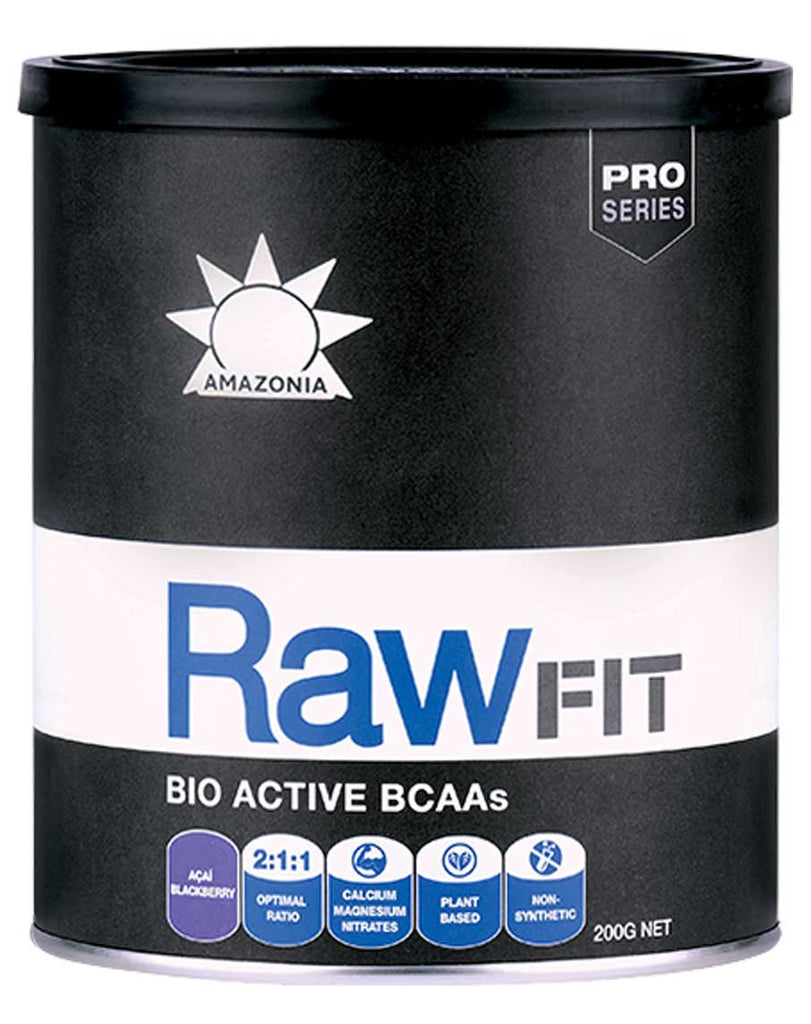 Raw Fit Bio Active BCAA's by Amazonia