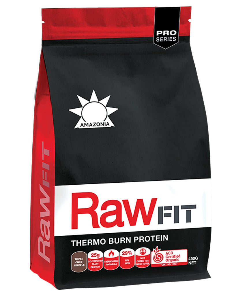 Raw Fit Thermo Burn Protein by Amazonia