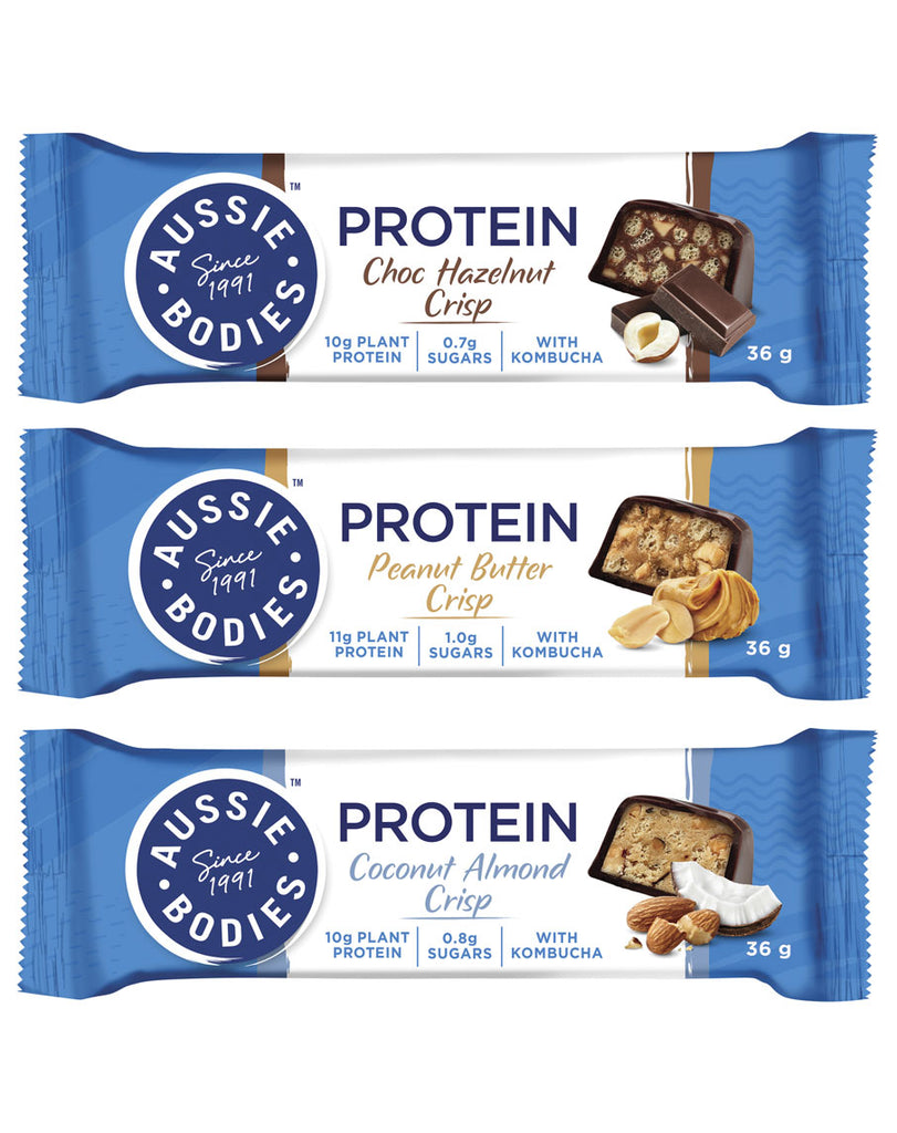 Nourish Protein Crisp Bar by Aussie Bodies