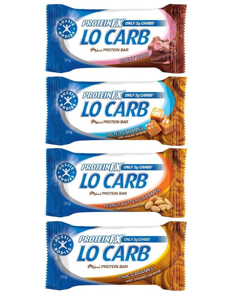 Protein FX Lo Carb Mini Bars by Aussie Bodies