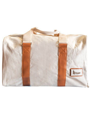 Canvas Beach Bag by B Raw