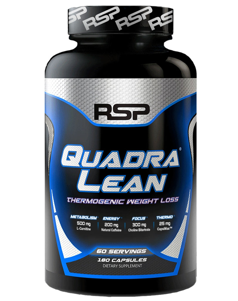 Quadralean Thermogenic by RSP Nutrition (NW Configurable Product)Back Reset Delete Duplicate Save Save and Continue Edit