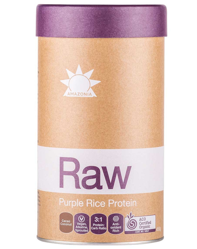 Raw Purple Rice Protein by Amazonia