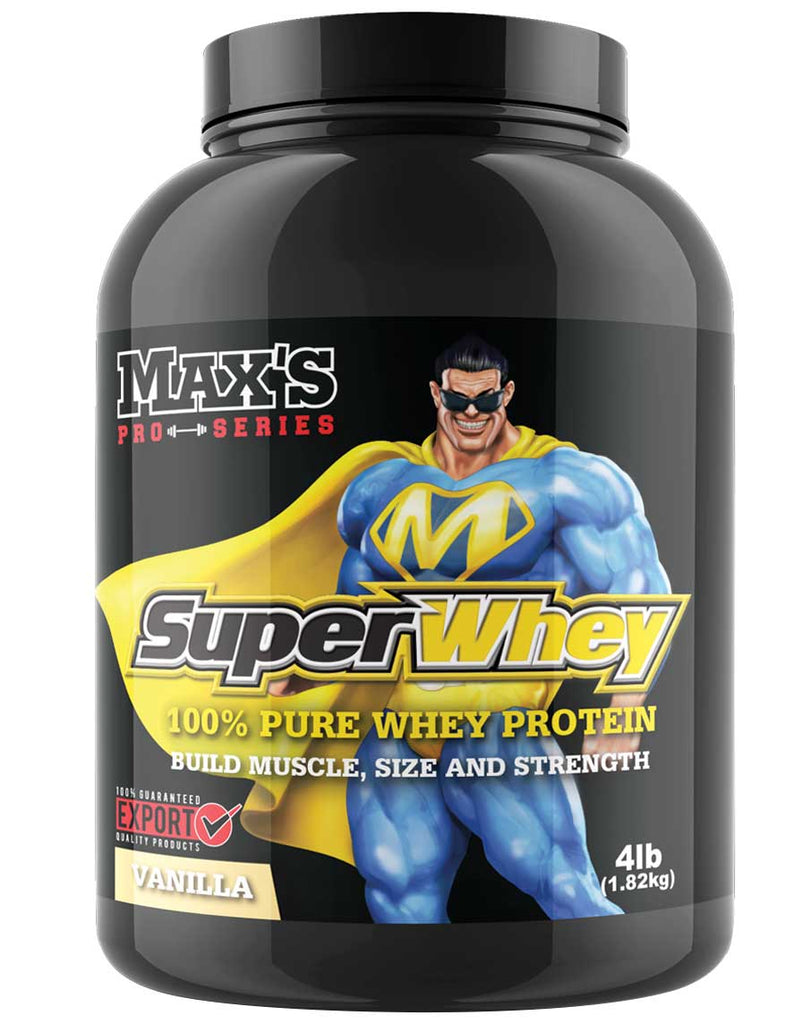 Super Whey by Max's Pro Series