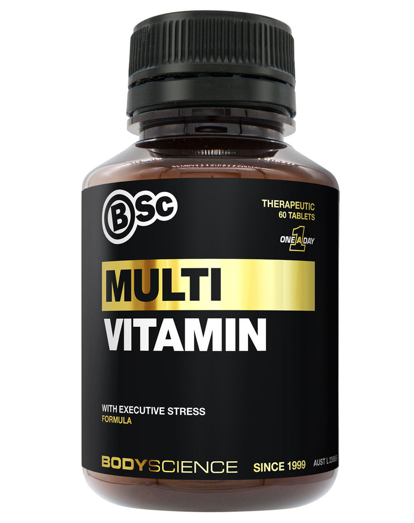 Multi Vitamin (Executive Stress Formula) by Body Science BSC