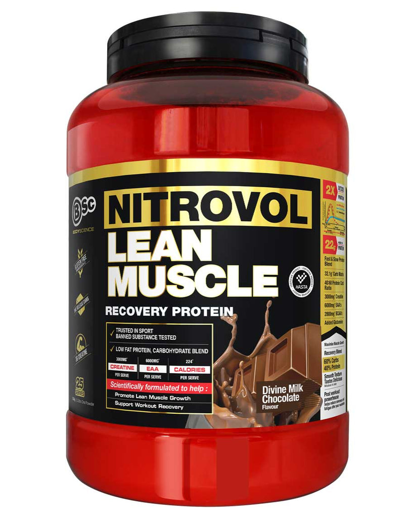 Nitrovol Lean Muscle Protein by Body Science BSc