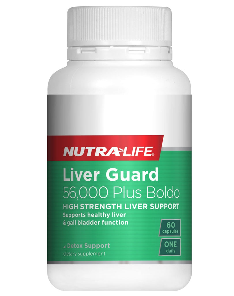 Liver Guard 56,000 Plus Boldo by NutraLife